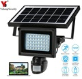 Yobang безопасность солнечной энергии PIR камера Солнечный Прожектор уличная лампа 720P HD CCTV камера безопасности Поддержка TF карта видео запись