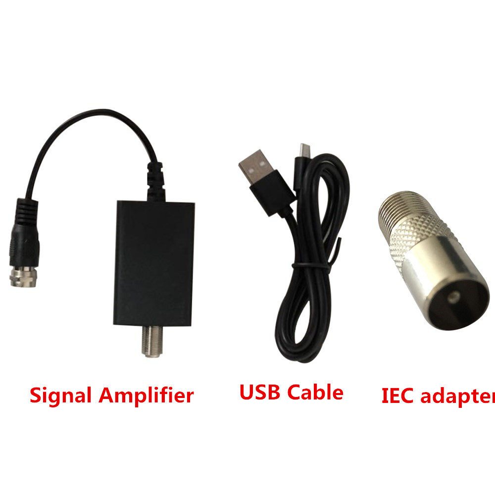 HDTV Antenna Signal Amplifier Booster Digital For Cable TV Fox HD Channel 25DB