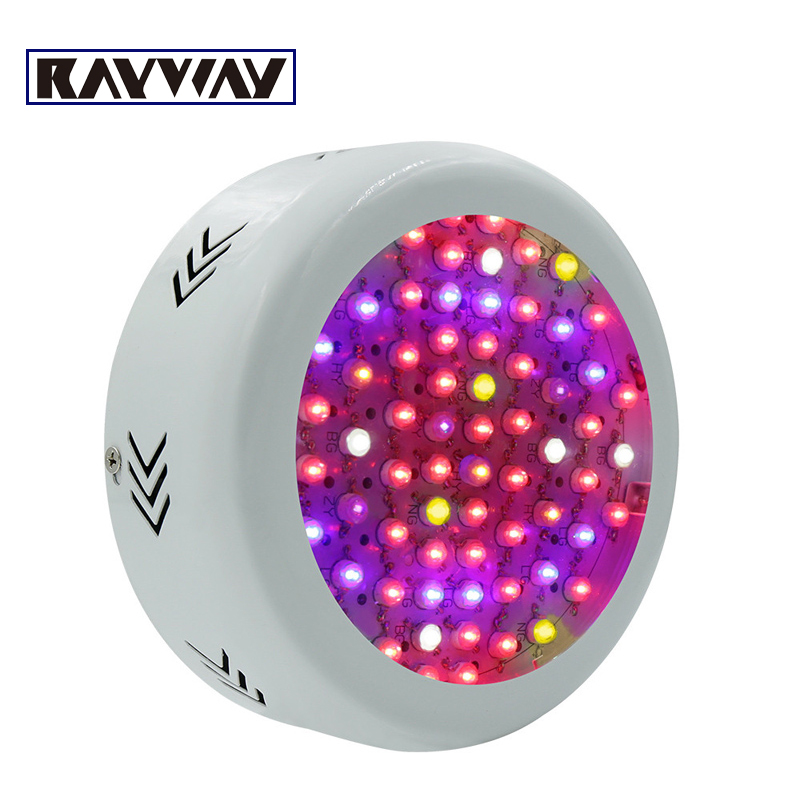 216W UFO Full Spectrum LED Grow Lights Hydroponics Grow Box LED Lamps For Greenhouse Plant Vegetable Growth Flowering light Bulb 200w full spectrum led grow lights led lighting for hydroponic indoor medicinal plants growth and flowering grow tent