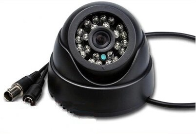 Wide-angle security surveillance camera hemisphere indoor special offer high-definition infrared night vision camera probe conch