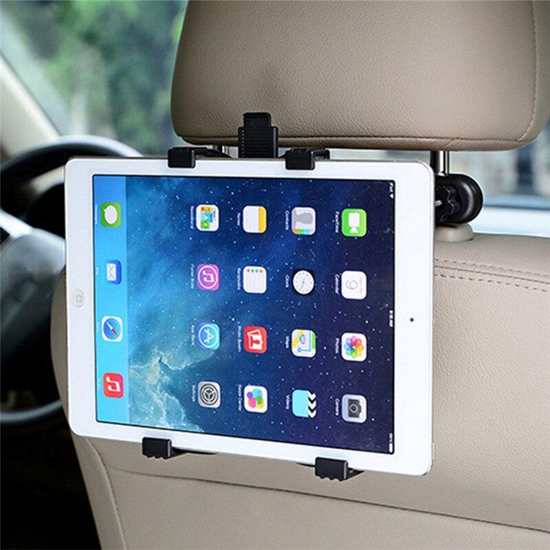 Asiento trasero del coche reposacabezas soporte ajustable para ipad 2 3/4 aire 5