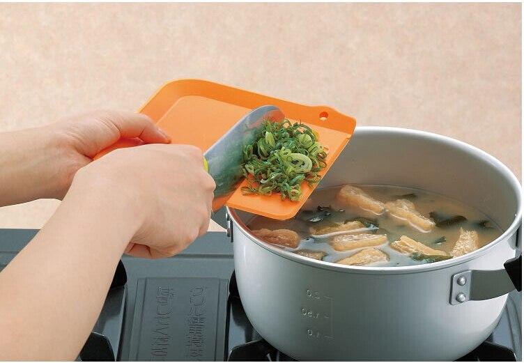 4pcs/Set Kitchen Flexible Index Antibiotic Resistant Soft Chopping Block /Hang Chopping Board