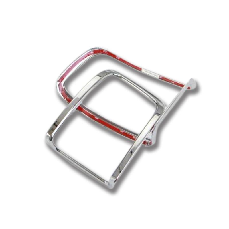 2pcs Chrome ABS Rear Tail Fog Light Lamp Cover Trim For Toyota Land Cruiser 200 LC200 2016 Car Accessories Styling! компьютерная акустика edifier r980t black