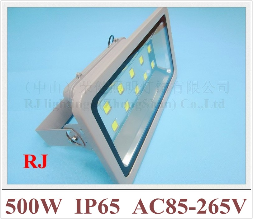 500W LED flood light floodlight waterproof LED spot lamp 500W (10*50W) AC85 265V 40000lm IP65 CE ROHS super power ultra bright