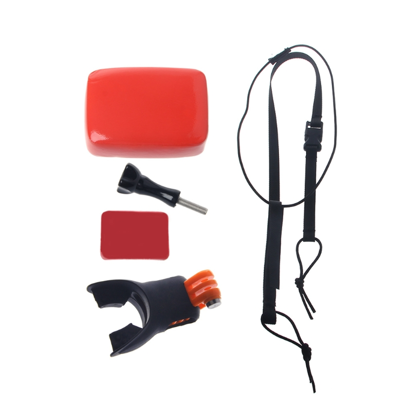 Surfing Shoot Surf Dummy Bite Mouth Grill Mount For GoPro Hero 5 4 3 2 SJCAM Kit Drop Shipping Support
