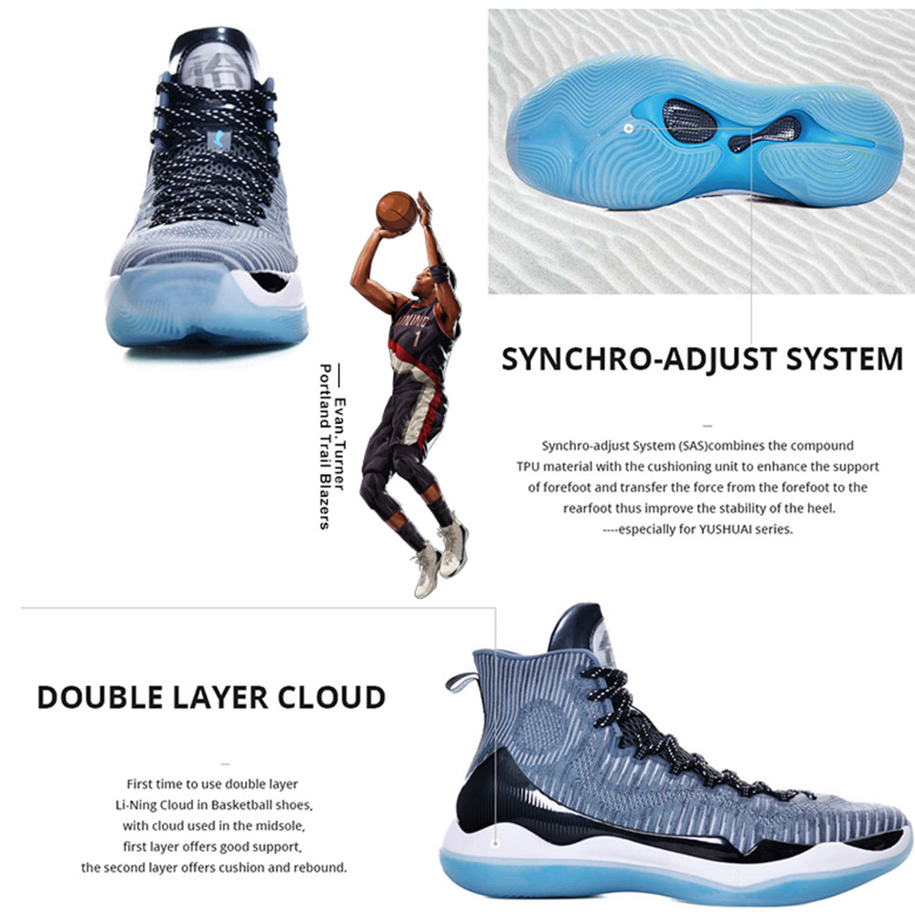 Li Ning Men Premium Basketball Competition Shoes Cushion Sneakers SAS  Support LiNing YUSHUAI XI Professional Sport Shoes ABAM059-in Basketball  Shoes from ... 0fb4db53b76cb