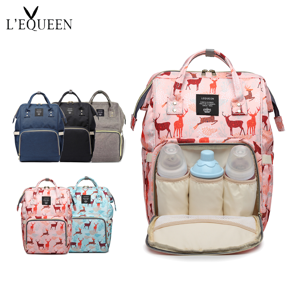 89a1d16fd356 2019 Fashion Mummy Maternity Bag Large Capacity Travel Backpack Nursing Baby  Bag VS Land diaper Bag