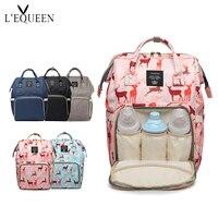 Fashion Mummy Maternity Bag Large Capacity Travel Backpack Nursing Baby Bag VS Land diaper Bag