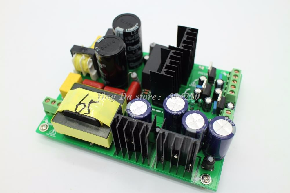 500W +/-65V amplifier dual-voltage PSU audio amp switching power supply board for DIY 1000w 90v llc soft switching power supply high quality hifi amplifier psu board diy