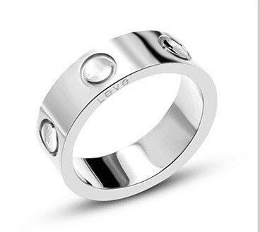 316L Stainless Steel logo carter Love rings