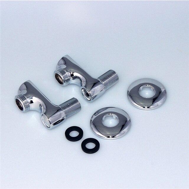 2 pcs Brass Clawfoot Bathtub Faucet or Shower Valve Adjustable ...