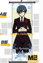 Anime Home Decor Poster Wall Scroll Black Butler 2 Ciel Phantomhive Cosplay Gift