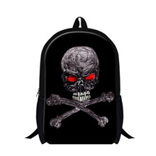 Skull Fluorescence Backpacks