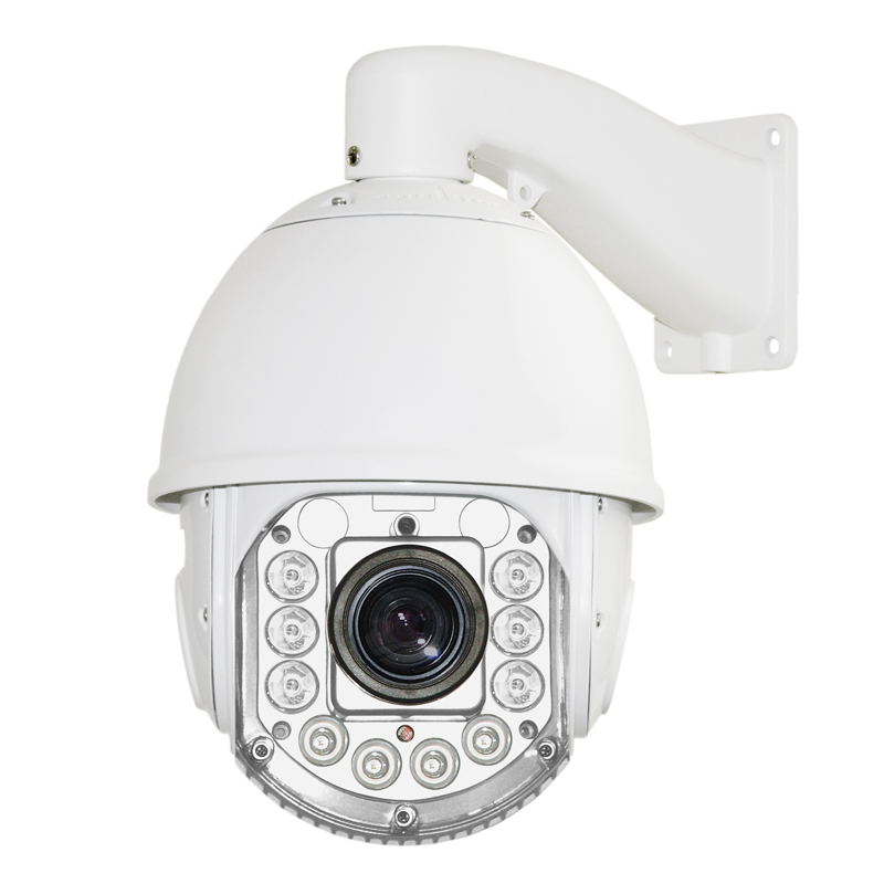 2.0MP HD Network Low Speed Dome H.264 18X ZOOM Waterproof CCTV PTZ 1080P Network dome camera HD ptz camera