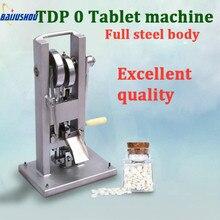 TDP 0 таблеточный пресс машина, ручка таблетка пресс машина домашний производитель с одной шт 6 мм прессформы