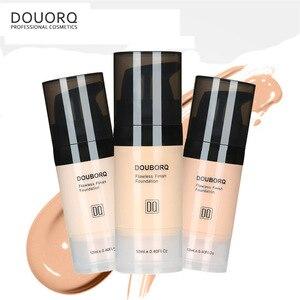 Image 2 - Base de maquiagem facial, líquido de acabamento fosco, maquiagem, corretivo, à prova dágua, cosmético natural