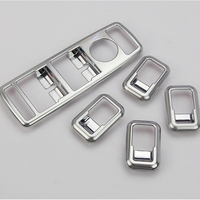 Chrome Window Glass Button Swith Panel For Mercedes Benz A W176 B W246 C W204 E W212 CLA W117 CLS W218 GLK Accessories