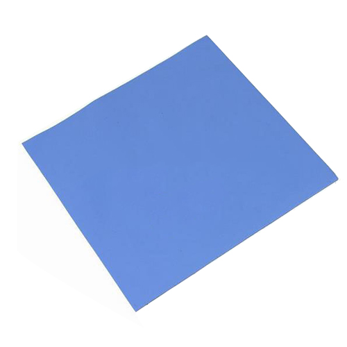 New GPU CPU Heatsink Cooling Conductive Silicone Pad 100mm*100mm*1mm Thermal Pad high quality 100mm 100mm 1 0mm thermal pad pads for chipset ic laptop vram heatsink cooling thermal conductive insulating blue