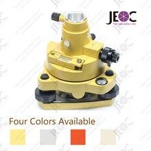 Topcon style Tribrach& Adapter, с оптическим отвесом, желтый красный серый верблюжий