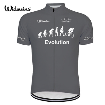 цены New widewins Evolution Alien SportsWear Mens Cycling Jersey Cycling Clothing Bike Shirt Size 2XS TO 6XL 8011