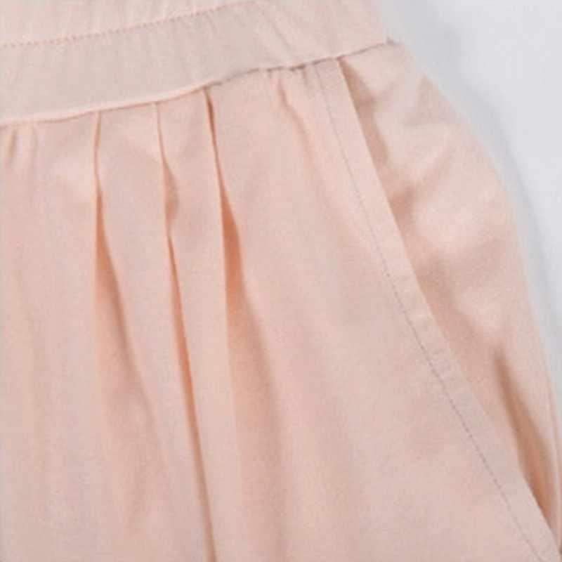 2020 春 Pijamas 女性のカジュアルパジャマセットレディースソリッドパジャマスーツ女性長袖 O ネックの襟 tシャツ & パンツ XXL