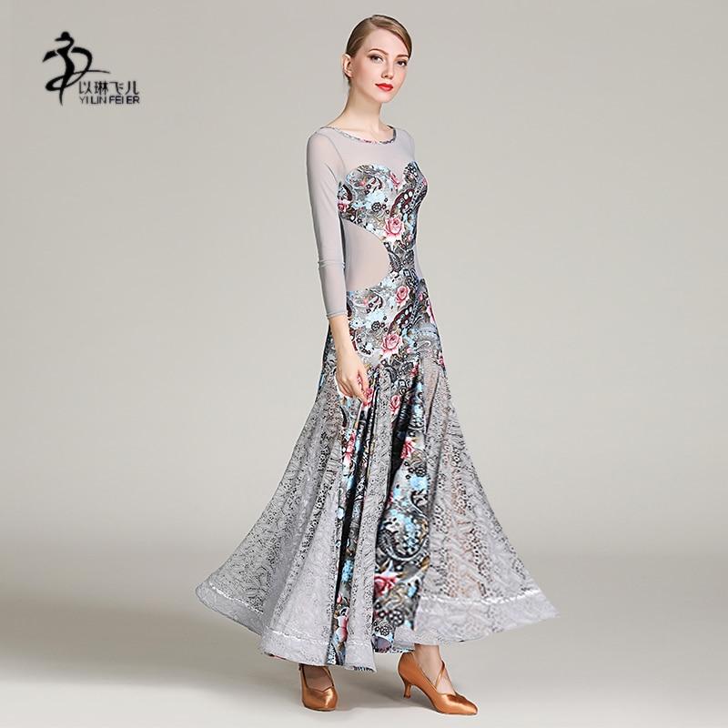e1f57f2ad62884c Бальные латинские танцы платье леди фламенко танцевальный костюм бальные  танцы Конкурс платья