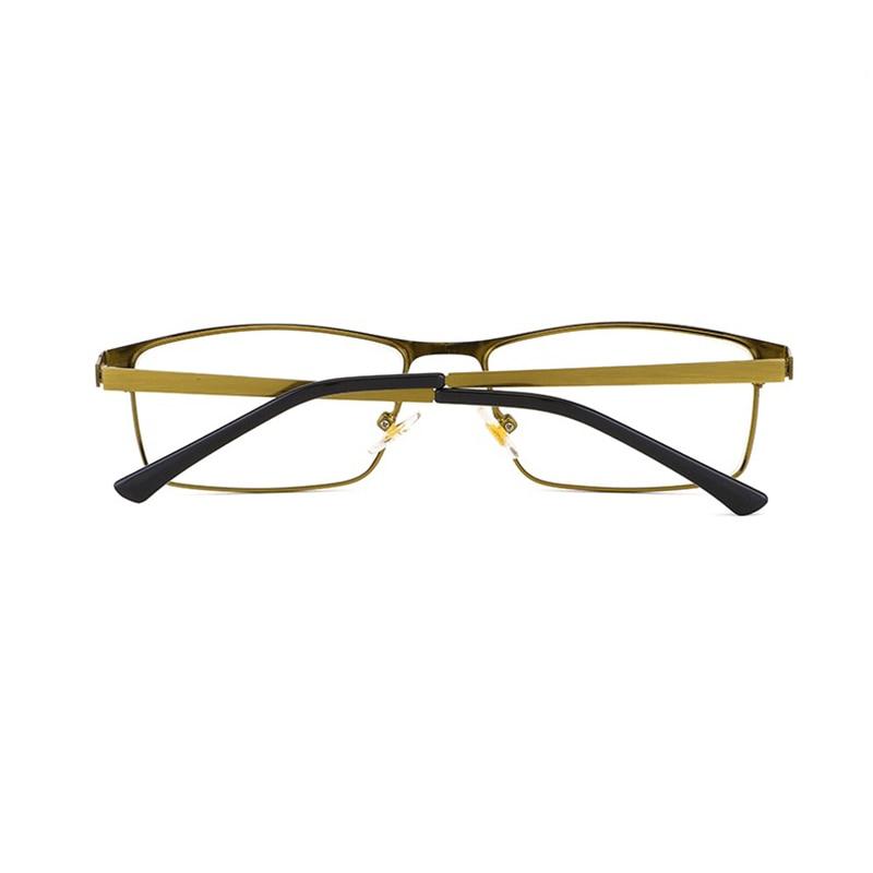 Unisex Reading glasses Women Men Glasses magnifier Intelligent Photochromic Blue light blocking glasses Square Alloy Frame H5 in Women 39 s Reading Glasses from Apparel Accessories