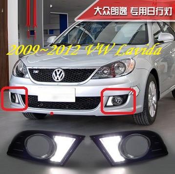 ФОТО VW Lavida Daytime light;2009~2012/2013~2016, Free ship!LED,VW Lavida fog light,2ps/set;Tiguan,Touareg,Bora,Santana,Jetta,Lavida