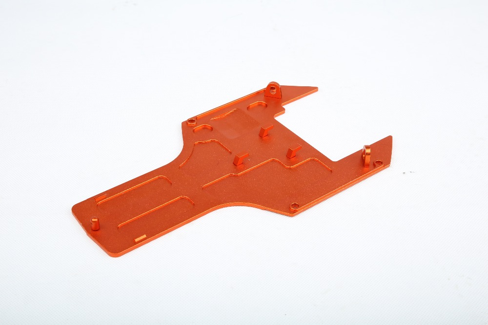 CNC metal Engine chassis plate fit for 1/5 RC CAR hpi rovan baja 5b 5T ss,Upgrade parts baja parts цена