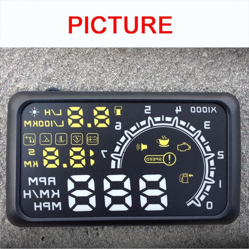 """Actisafety 5.5 """"pantalla Car Head Up Display HUD coches Sistema de ..."""