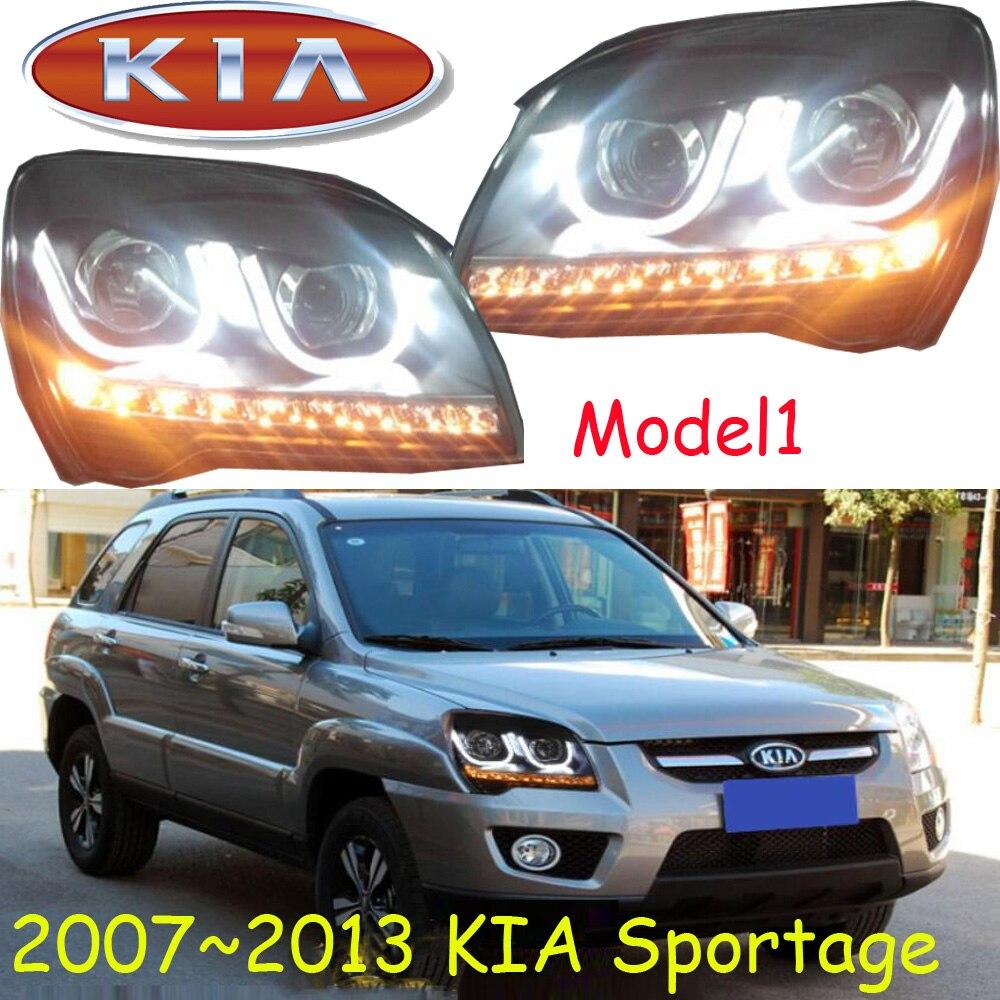 KlA Sportage headlight 2007 2013 LHD RHD need add 200USD Free ship KlA Sportage daytime light