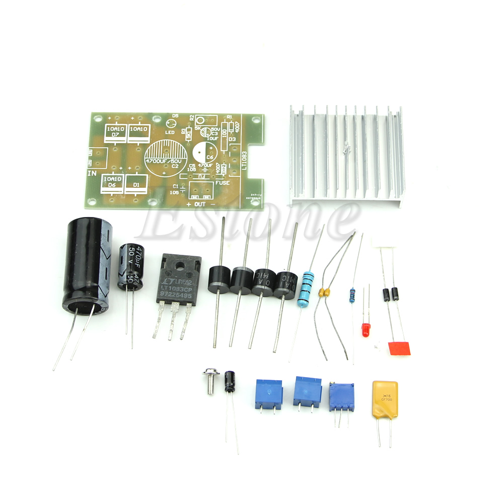 Good Deal Lt1083 Adjustable Regulated Power Supply Module Parts And 8 Channel Lpt Relay Board Components Diy Kit
