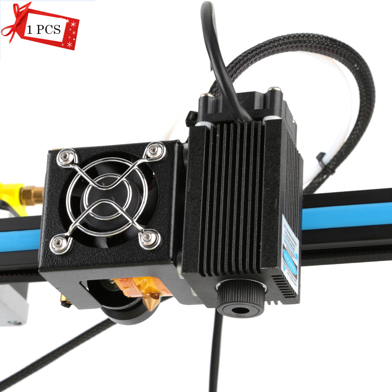 1 шт./лот 12 В высокой мощности лазерного модуля лазерной трубки Синий Фиолетовый лазерная гравировка для 3D принтер лазерная гравировка