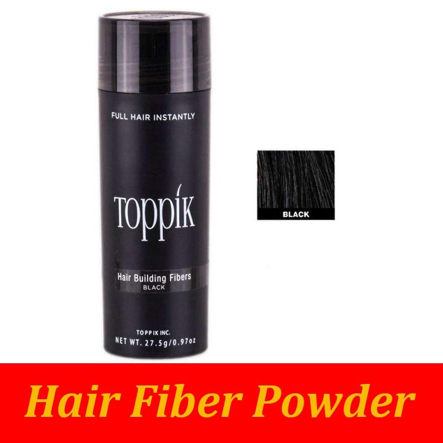 TOPPIK Hair Building Fibers Best Salon Barber Instant Hair Styling Powder Thickening Keratin Hair Fibre Concealer 27.5g