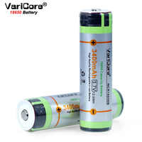 1-10PCS VariCore protected for 18650 3400mAh battery NCR18650B with original new PCB 3.7V Suitable for flashlights