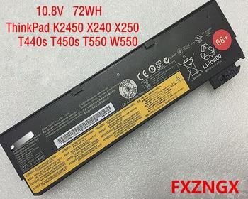 10.8V 72Wh Genuine for Lenovo Battery K2450 ThinkPad X240 X250 T440s T450s T550 W550