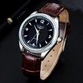 2016 Fashion Casual Mens Watches Top Brand Luxury High Quality Leather Waterproof Quartz Wrist Watches For Men Herren Uhren 0505
