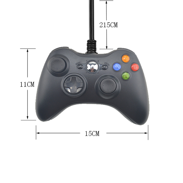 USB Controller Joystick For Microsoft System PC Controller For Windows 7 / 8/10 Not for Xbox 360 Joypad