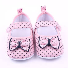 2017 Summer Hot Sell Shoes Styles 0-12M Sole Baby Girl Shoes Anti-slip Cotton Toddler Guaranteed 100% Soft Prewalker US(China)