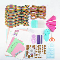 Paper Drawing Quilling Paper Set Paper Craft Material Packag Color Material Package Beginners Learning Tool