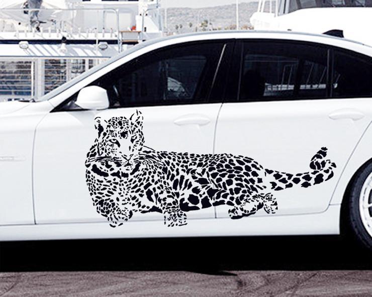 Trasporto Libero Stickers Murali IN PVC Cheetah Leopard Jungle Cat/3D Rimovibile Wall Stickers Home Decor/Car 52*110 CmTrasporto Libero Stickers Murali IN PVC Cheetah Leopard Jungle Cat/3D Rimovibile Wall Stickers Home Decor/Car 52*110 Cm