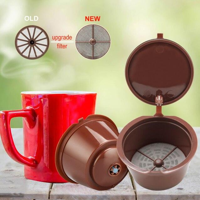 Phiên Bản nâng cấp Nescafe Bộ Lọc Cà Phê Capsulas Dolce Gusto Reutilizable Viên Nang Bơm Lại Tái Sử Dụng cafeteira Cho Dolci Máy