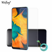 2PCS Glass For Samsung Galaxy A30 Screen Protector Tempered Phone Film Glass<