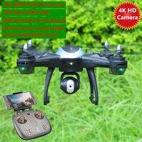Большой gps Helicoper 50 см 500 м 4k 1080P камера 720P смарт низкая Мощность возврата Follow Me WI FI FPV RC Дрон GPS Квадрокоптер Drone PK X8PRO