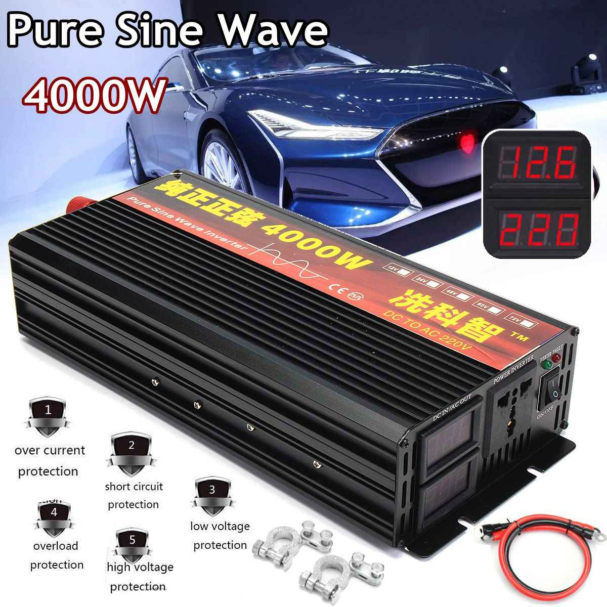 Power Pure Sine Wave Inverter Circuit Diagram 2017 2018 Best Cars Detail Feedback Questions About 12v 24v 220v 2000 3000 4000w Voltage Transformer