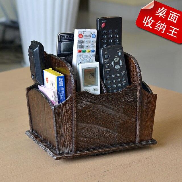 De style japonais au bois paulownia rotatif bo te de for Bureau style japonais