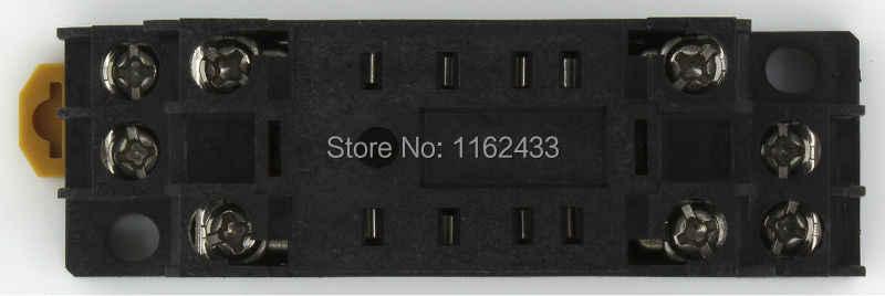 PYF08A-E 8 pin röle soket tabanı MY2 HH52P H3Y-2