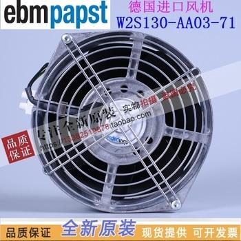 NEW ebmpapst PAPST W2S130-AA03-71 AC230V cooling fan