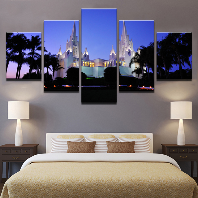 Canvas Paintings For Living Room Wall Art Framework 5 Pieces San ...