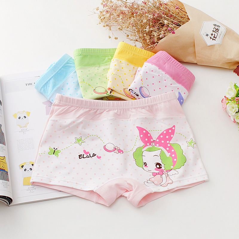 New arrived 2018 Girls Underwear Free Shipping Fashion Kids cotton character children panties briefs 5pcs/lot 4-10year